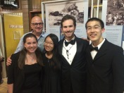 PRISMA clarinet section with clarinetist Alain Desgagne. June 2015