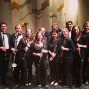 IU Wind Ensemble Clarinet section. Spring 2015
